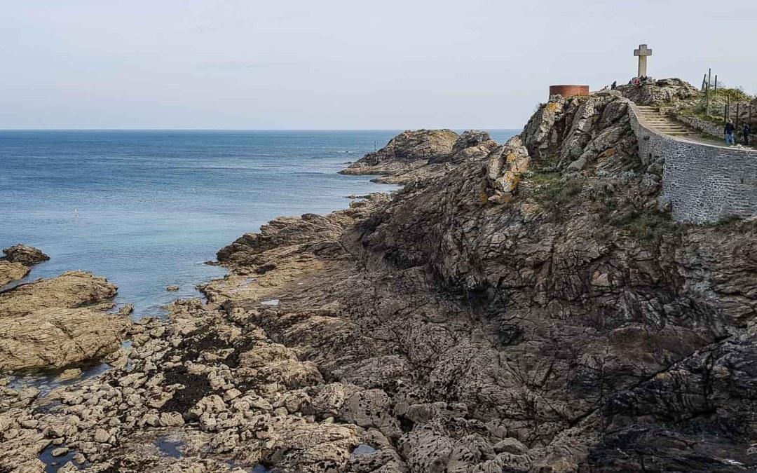 La Pointe du Décollé, à Saint-Lunaire (Ille-et-Vilaine)