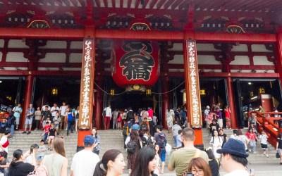 Le temple Senso-ji à Asakusa, Tokyo