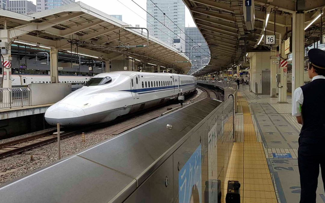 Aller à Kyoto avec le Shinkansen