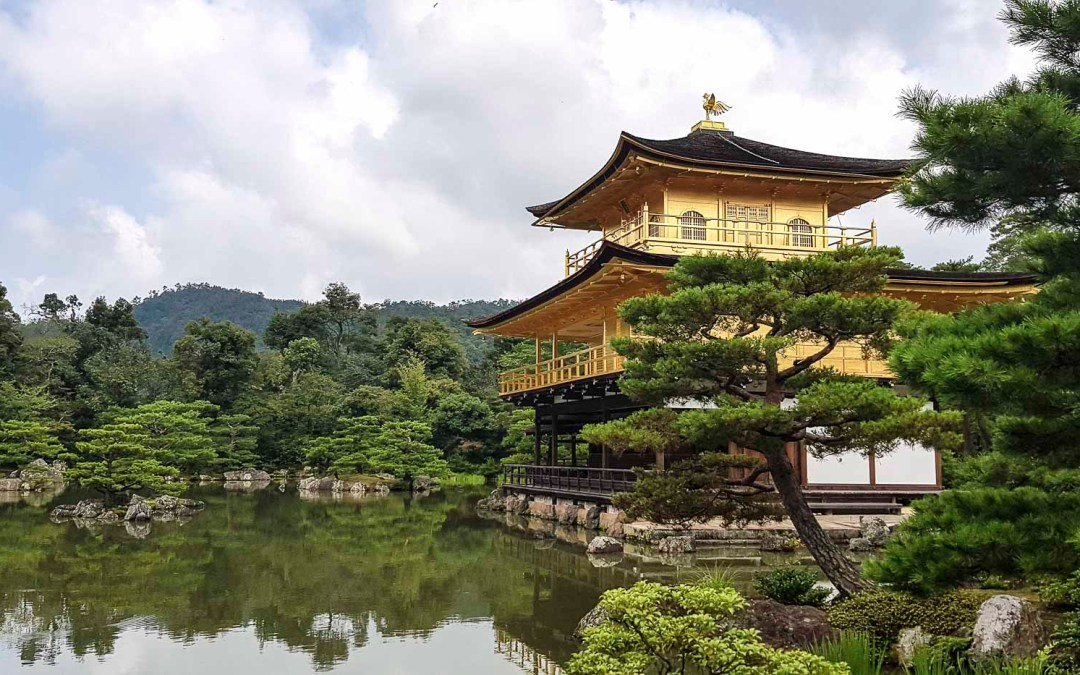 Le Pavillon d'Or à Kyoto, Japon