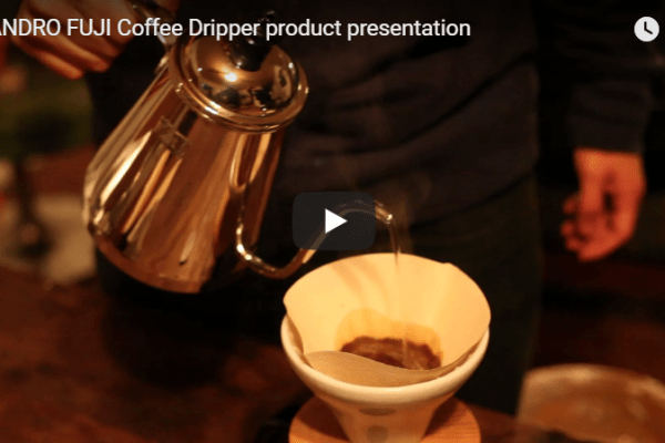 FUJI Coffee Dripper Teaser video