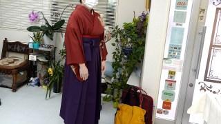 高円寺駅近美容室袴着付け