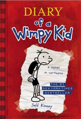 """Cover of Jeff Kinney's """"Diary of a Wimpy Kid."""""""