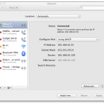 Android USB tethering OSX