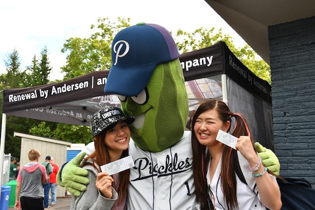 ポートランドに愛される球団、その名もピクルス!