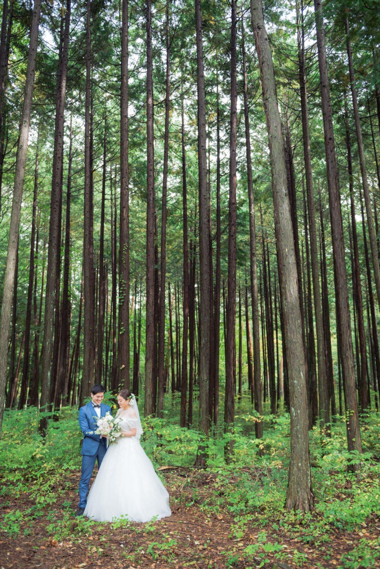 べるが(verga)での結婚式-新郎新婦
