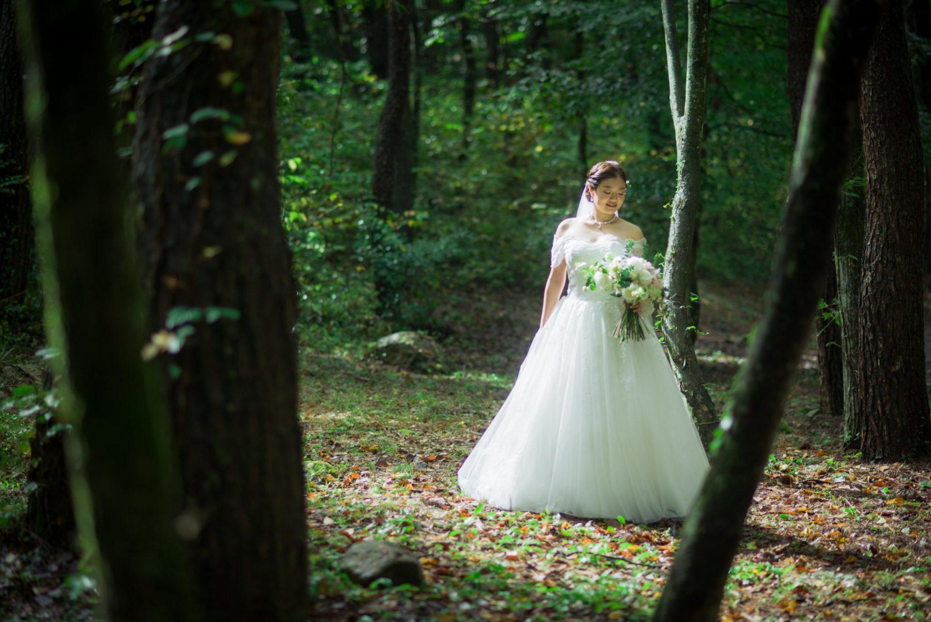べるが(verga)での結婚式-ソロショット