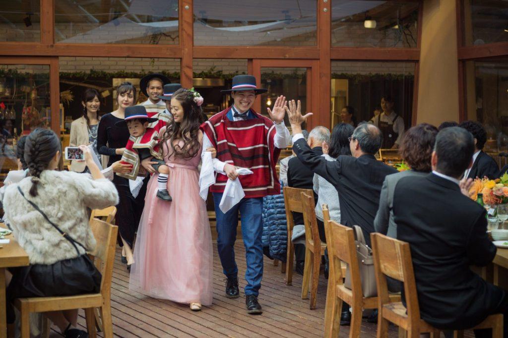 べるが(verga)での結婚式-再入場