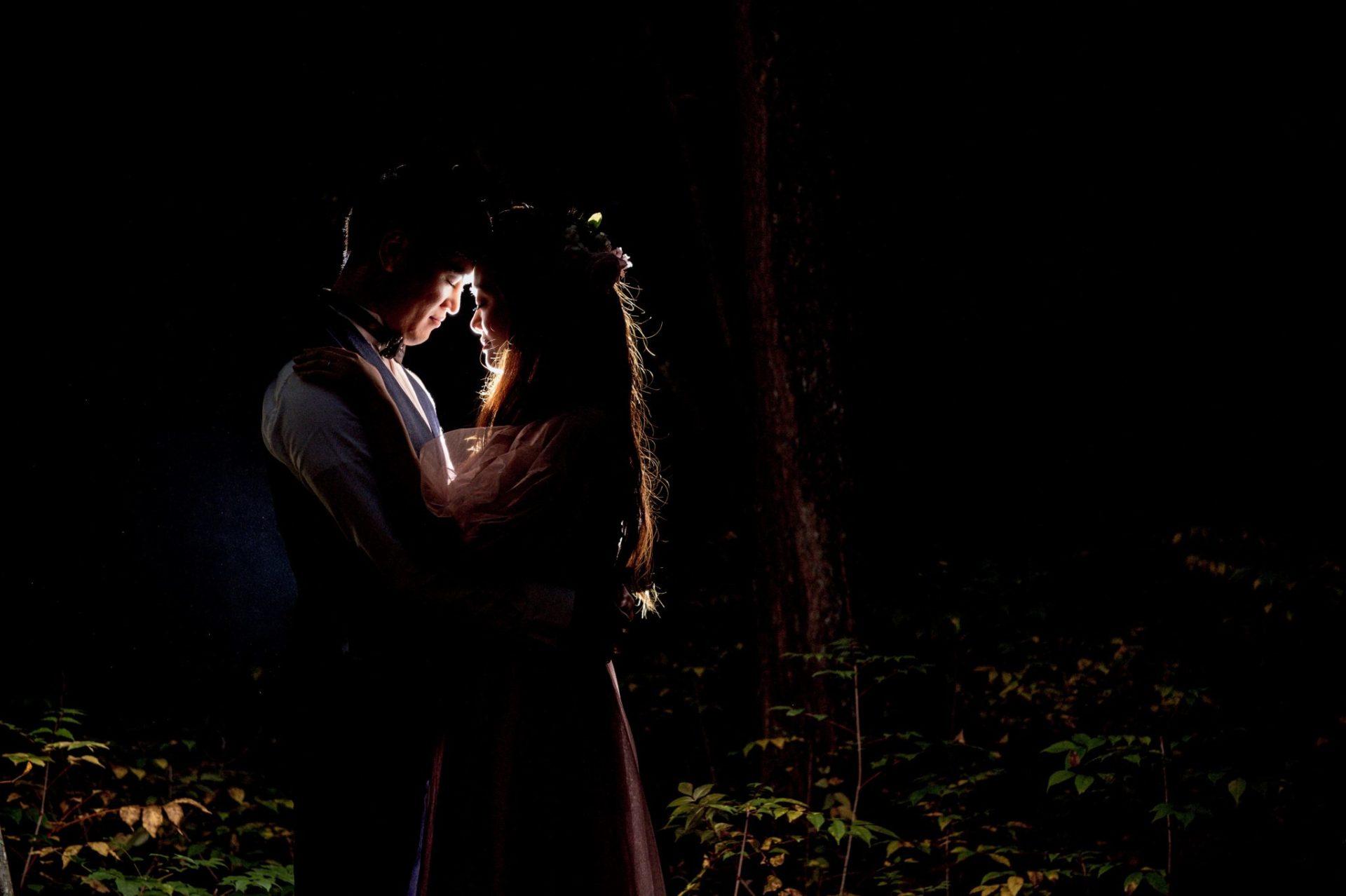べるが(verga)での結婚式-森撮影