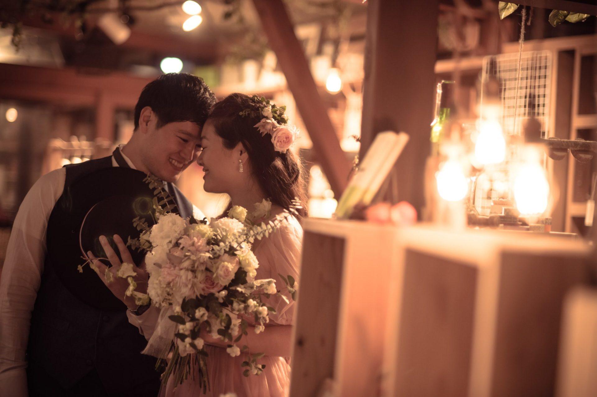 べるが(verga)での結婚式-笑顔