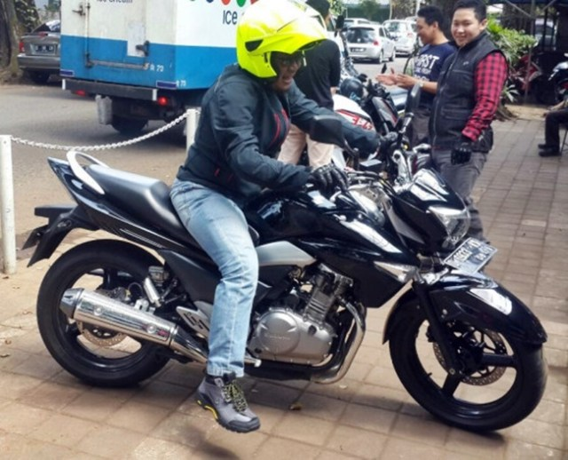 test ride suzuki inazuma 2014