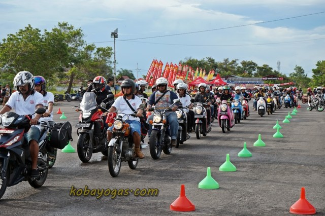 Honda Bikers Day Palangkaraya CSR