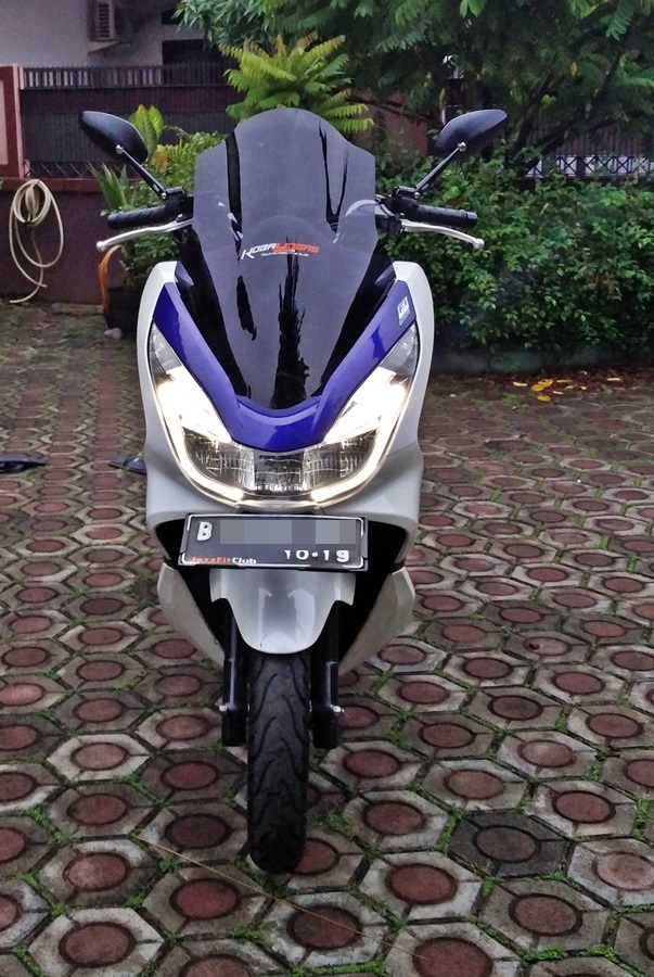windshield sectbill honda pcx