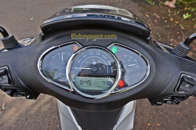 speedometer Piaggio Medley ABS i-get Indonesia