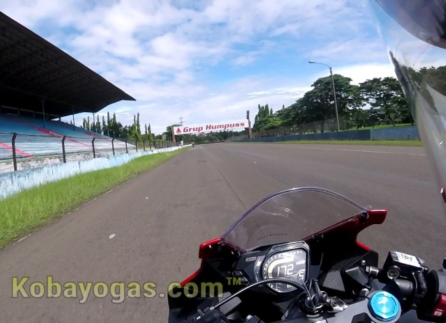 top speed cbr250rr sentul