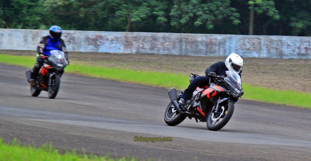 test ride dan top speed Suzuki GSX-R150 di sentul