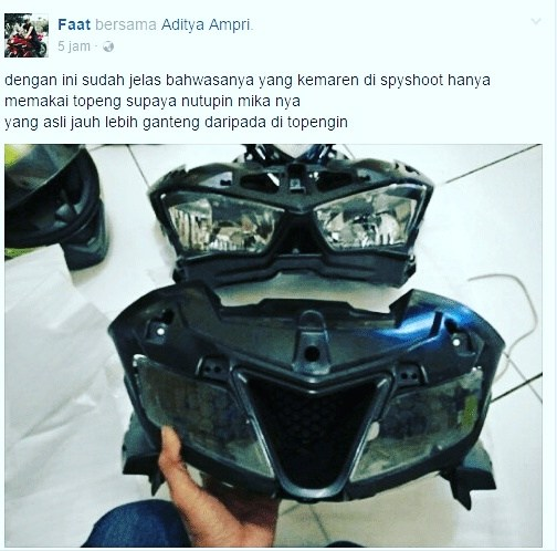 headlamp Yamaha R15 2017