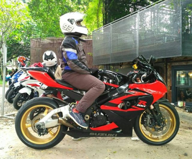 test ride Suzuki GSX-R1000 K5