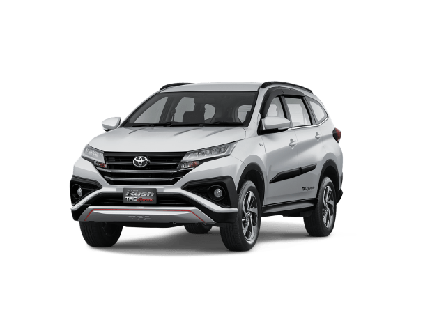 all new rush 2018 Silver Mica TRD Sportivo