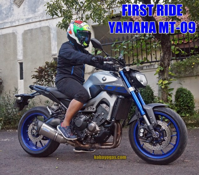 test ride Yamaha MT-09