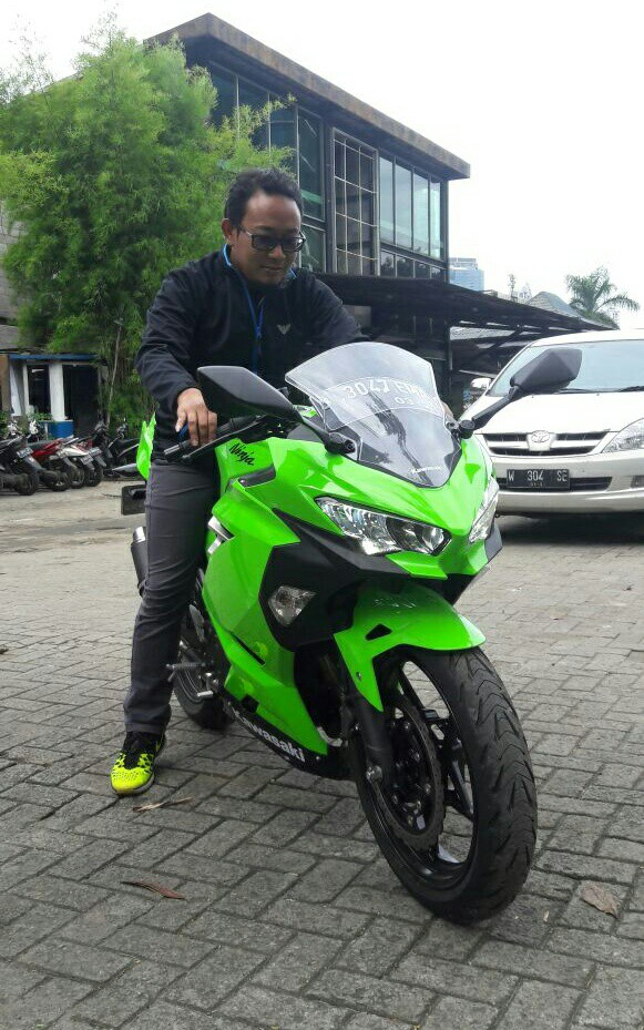 Test Ride Kawasaki All New Ninja 2018 kobayogas