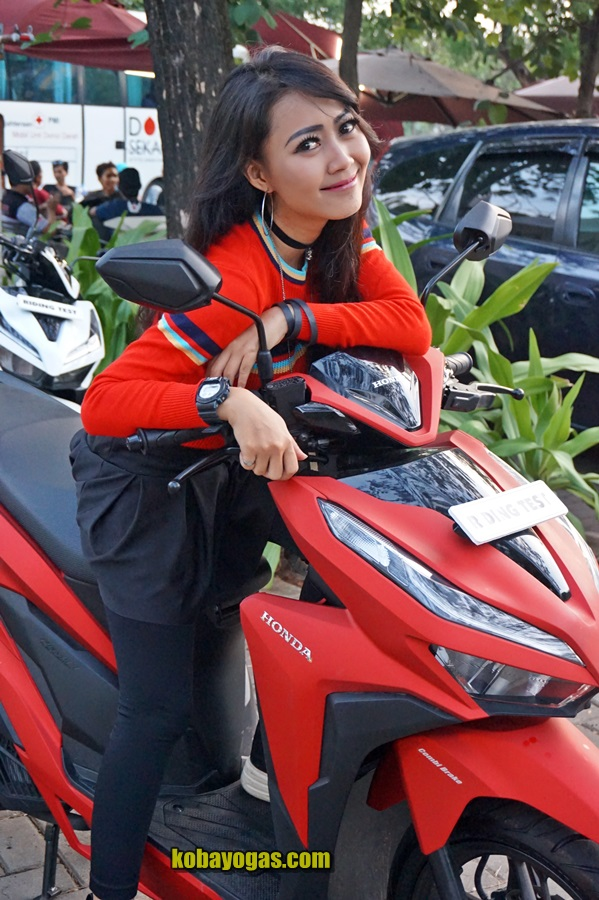 test ride all new honda vario 150 12