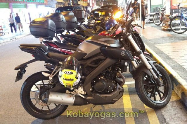 Yamaha MT-125 Singapore 2