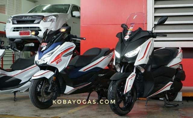 Review dan Test Ride Honda Forza 300 vs Yamaha Xmax 300 3