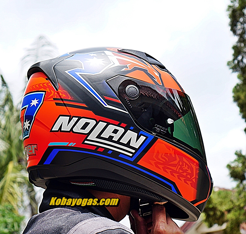 Review Black Visor Nolan N605 Stoner Edition [Galeri]