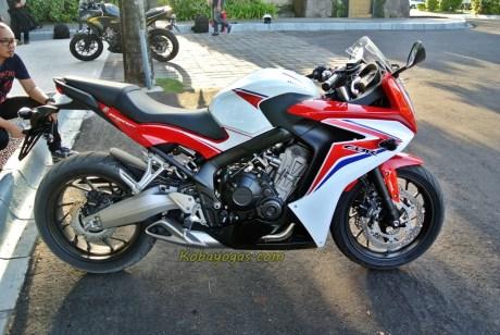 Honda CBR 650F 4 cylinder