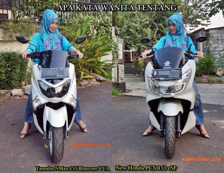 Yamaha NMax vs New PCX