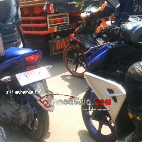 spyshot Yamaha Aerox Indonesia