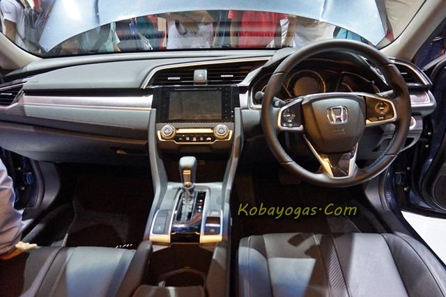 dashboard Honda Civic Turbo
