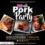 3rd Edition Of Ghana's Biggest Pork Show With Kasapa FM Comes Off July 26th – 28th At Krom Pub, Tema C8
