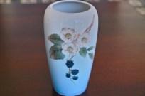 ロイヤルコペンハーゲン ブラックベリー柄 花瓶