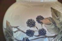 ロイヤルコペンハーゲン ブラックベリー図 花瓶 2