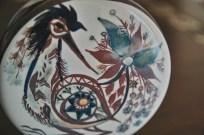 ロイヤルコペンハーゲン Marianne Johnsonデザイン 鳥の花瓶 1