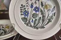アラビア社 フローラ (Flora)シリーズ 25.5センチ 丸形大皿 2