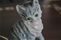 ドイツ製 魅惑のアロマランプ 縞猫 2