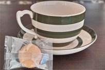 英国 T.G.GREEN 緑色のラインが愛らしい大きなカップ&ソーサー 5