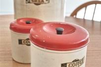 英国 キッチン用品の名品 garrison社のキャニスター3種 7