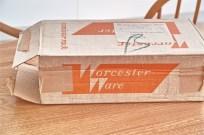 英国 Worceter Ware ウースターウェアー社製 キャニスター3つセット ラック入り 新品箱入り その⑤ 5