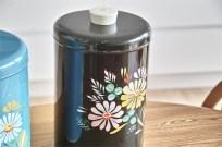 米国 ランズバーグ社 RANSBURG  ポテトチップス缶 ブラック 1