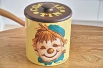 米国 ランズバーグ社 RANSBURG クッキー缶 蓋は木製