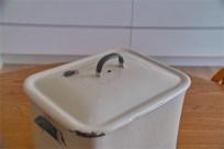 英国製 ブレッド缶 クリーム地×緑文字  その2 2