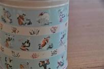 英国 Worcester Ware  ウースタウェアーア社製 COFFEE缶 茶摘み柄 4