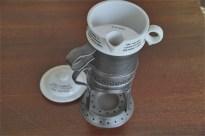 英国 GRIMWADE社製 離乳食を作られていたと言われています。陶器と金属のレアなセット。5