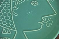 Stig Lindbergの飾り皿 Piazzaシリーズ 1960年製 4