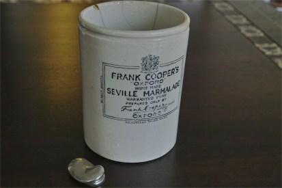 FRANK COOPER'S マーマレード販売用陶器 古いタイプ