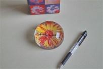 アンディ ワォーホール デザイン お花のペーパーウェイト ドイツ ローゼンタール studio line 製 4